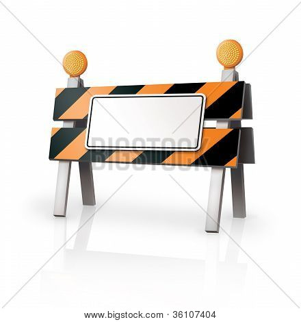 Warning Barrier