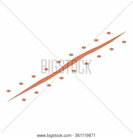 Operation Suture Icon. Isometric Of Operation Suture Vector Icon For Web Design Isolated On White Ba