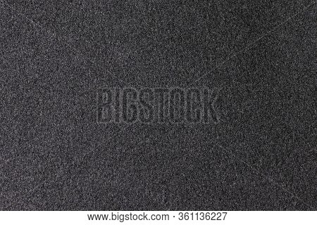 Cashmere Fabric Texture, Background. White Cashmere. Black Cashmere Textile Background.