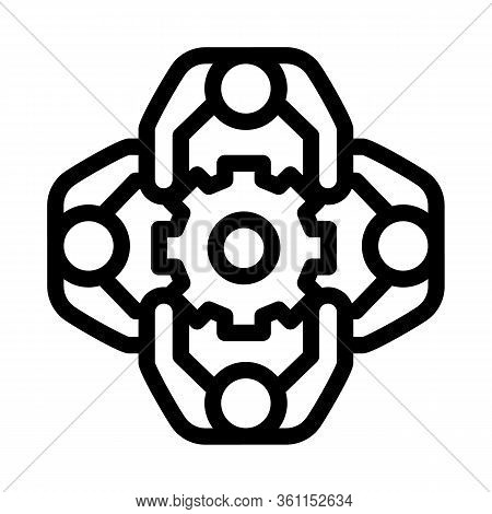 General Solution Icon Vector. General Solution Sign. Isolated Contour Symbol Illustration