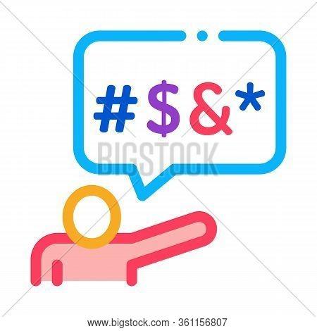 Human Replica Mats Icon Vector. Human Replica Mats Sign. Color Symbol Illustration