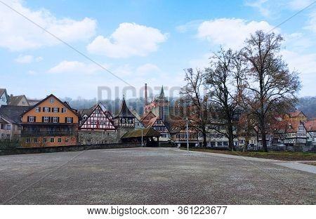 Sudhaus And Culture Museum Haellisch-fraenkisches Museum Near The Old Town Of Schwaebisch Hall, Germ