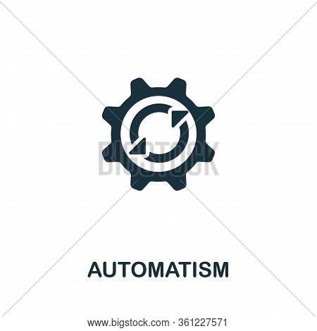 Automatism Icon From Personal Productivity Collection. Simple Line Automatism Icon For Templates, We