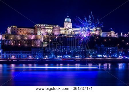 Budapest, Hungary New Year And New Decade Celebrations, 2020