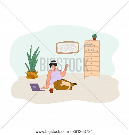 Animation Flat Green Screen Office Man Sitting Hd Design Arm Included Milk Honey Fruit Animation Bre