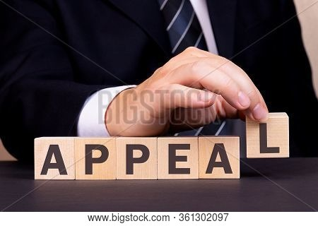 Man Made Word Appeal With Wood Blocks