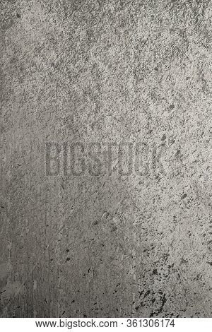 Uneven Industrial Surface Gray Colored As A Textured Background For Your Design.