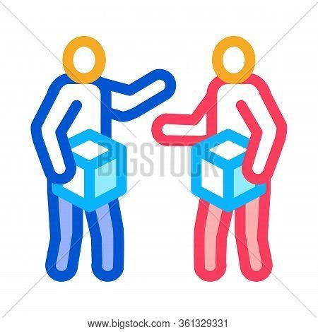 Sellers Icon Vector. Sellers Sign. Color Symbol Illustration