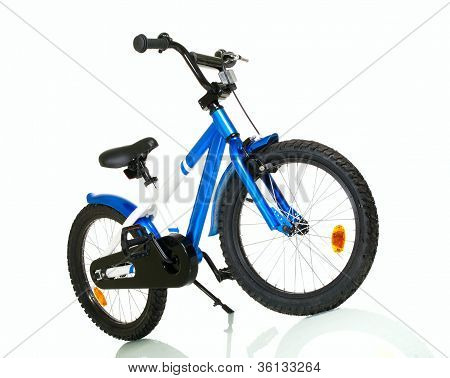Child Bike With Reflection