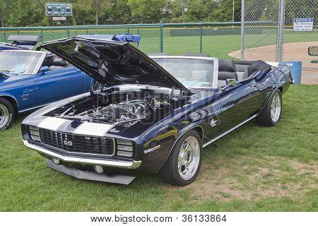 1969 Blue & White Chevy Camaro