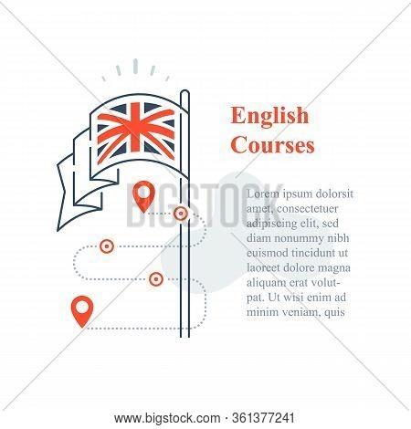 Learn English Language, Linguistic Courses, Training Class, Speaking Improvement, Exam Or Test Prepa