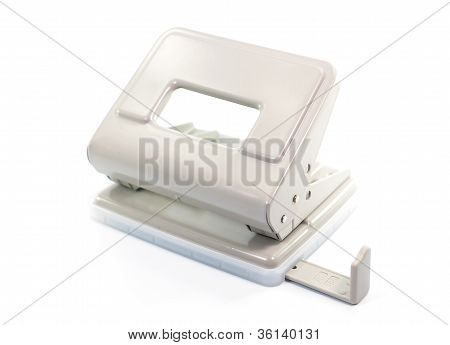 Paper Puncher On White Background