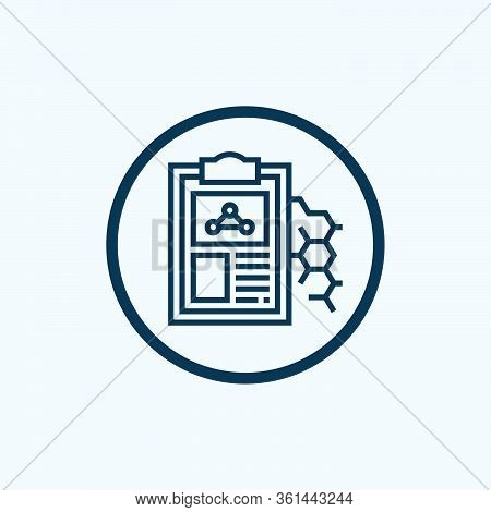 Formula Icon Isolated On White Background From Pharmacy Collection. Formula Icon Trendy And Modern F
