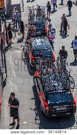 Bmc Team's Cars