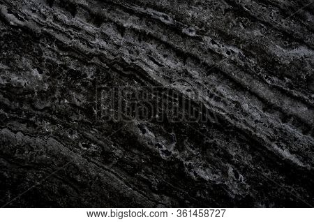 Black Marble Stone Background. Black With Grey Marble,quartz Texture. Wall And Panel Marble Natural