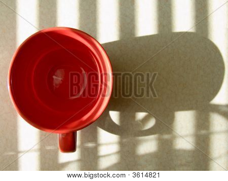 Red Round Cup