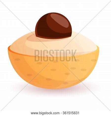 Longan Fruit Icon. Cartoon Of Longan Fruit Vector Icon For Web Design Isolated On White Background