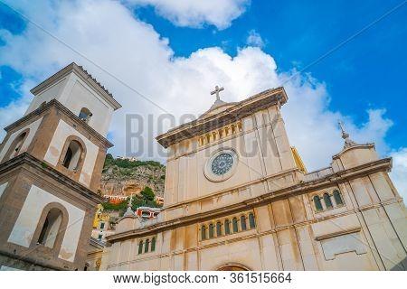 The Church Of Santa Maria Assunta In Positano