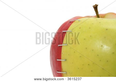 Stapled Apple