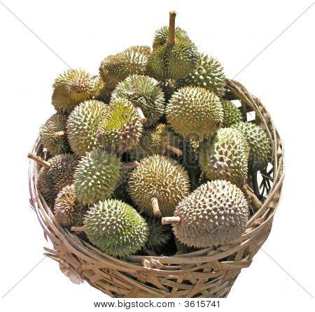 Basket Of Durians
