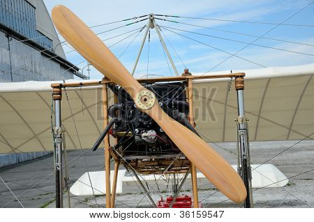 Air Show - Bleriot Plane Replica