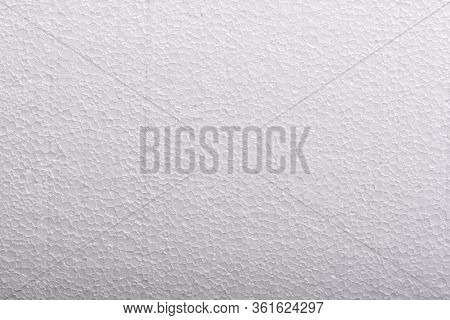 Foam plastic macro texture and background, Polystyrene close up
