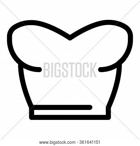 Women Bra Top Icon. Outline Women Bra Top Vector Icon For Web Design Isolated On White Background