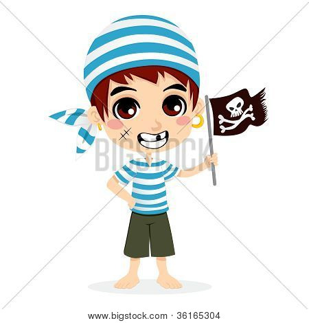 Little Pirate Kid