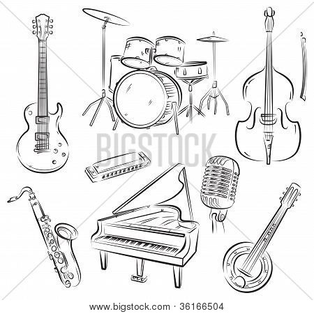 Jazz band set