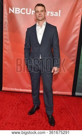LOS ANGELES - JAN 11:  Jesse Spencer on the red carpet at the NBCUniversal Winter TCA 2020 on January 11, 2020 in Pasadena, CA