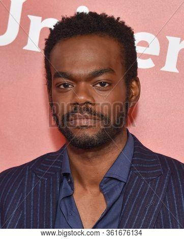 LOS ANGELES - JAN 11:  William Jackson Harper on the red carpet at the NBCUniversal Winter TCA 2020 on January 11, 2020 in Pasadena, CA