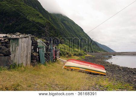 Boat In Faja