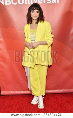 LOS ANGELES - JAN 11:  Luna Blaise on the red carpet at the NBCUniversal Winter TCA 2020 on January 11, 2020 in Pasadena, CA