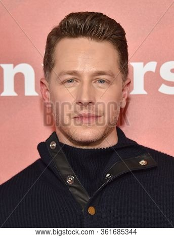 LOS ANGELES - JAN 11:  Josh Dallas on the red carpet at the NBCUniversal Winter TCA 2020 on January 11, 2020 in Pasadena, CA