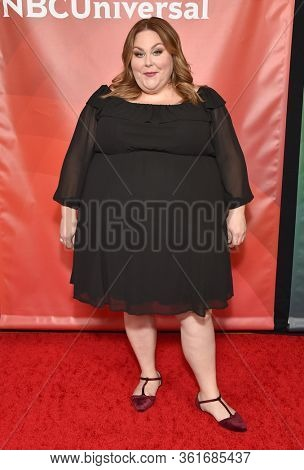 LOS ANGELES - JAN 11:  Chrissy Metz on the red carpet at the NBCUniversal Winter TCA 2020 on January 11, 2020 in Pasadena, CA