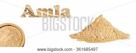 Phyllanthus Emblica - Amla Powder Ayurvedic Alternative Medicine