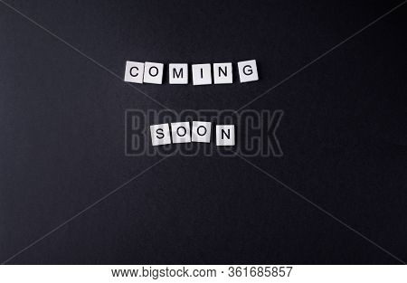 Coming Soon From Small Wooden Cubes On Chernom Fone.