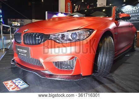 Pasay, Ph - July 28: Bmw Car At Bumper To Bumper Prime Car Show On July 28, 2019 In Pasay, Philippin