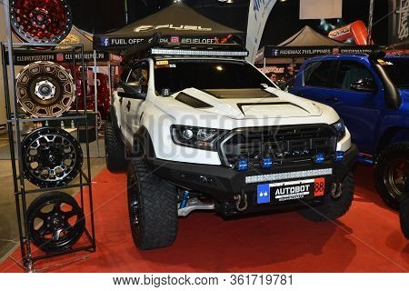 Pasay, Ph - July 28: Ford Ranger Raptor Pick Up At Bumper To Bumper Prime Car Show On July 28, 2019