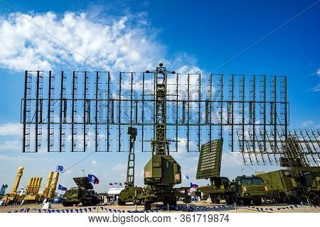 Air Defense Radars Of Antiaircraft Systems