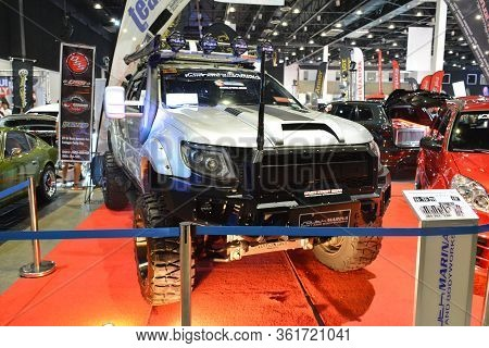 Pasay, Ph - July 28: Ford Raptor Pick Up At Bumper To Bumper Prime Car Show On July 28, 2019 In Pasa