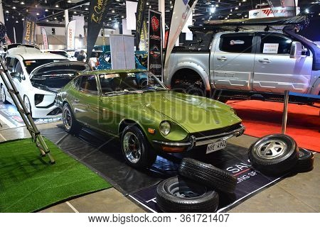 Pasay, Ph - July 28: Datsun 240z At Bumper To Bumper Prime Car Show On July 28, 2019 In Pasay, Phili