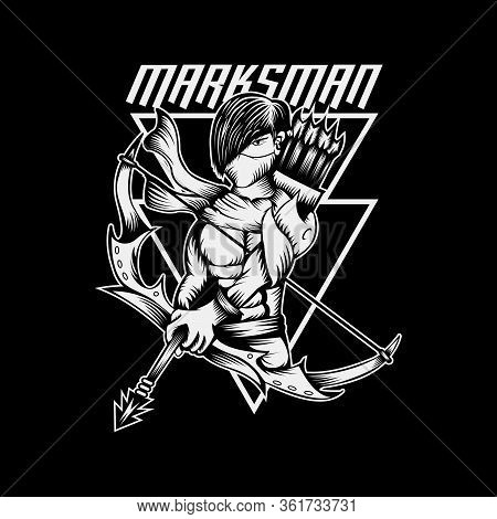 Marksman Amazing Design For Your Company Or Brand