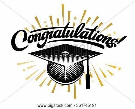Graduation Vector Class. Congrats Grad Congratulations Graduate.