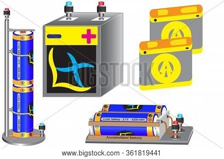 An Electric Battery Is A Reusable Chemical Current Source For Laboratory Use