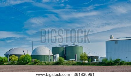 Biogas Plant For Power Generation And Energy