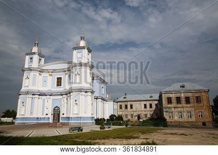 Assumption Cathedral In Volodymyr-volynskyi City At Sunny Summer Day, Ukraine