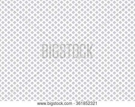 Seamless Fabric Pattern. Polyester Fabric Grid Texture, Sport Textile Nylon Mesh Texture. Clothing T