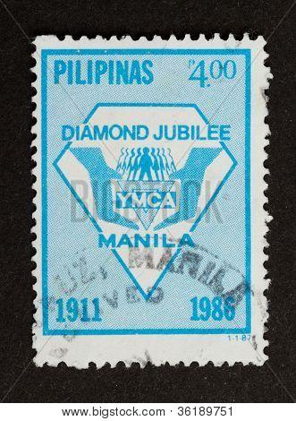 Manila - 1986: Stamp Printed In Manila