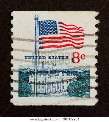 Usa - Circa 1975: Stamp Printed In The Usa